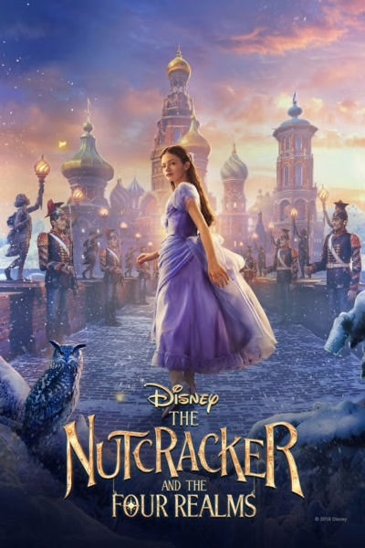 Nutcracker And The Four Realms Vudu or Movies Anywhere HD redemption only