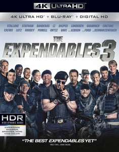 The Expendables 3 (2014) Vudu 4K or iTunes 4K code