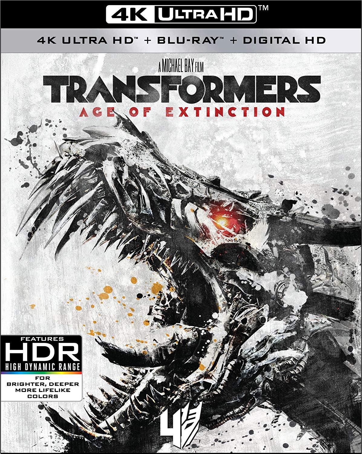 Transformers: Age of Extinction (2014) iTunes 4K redemption only