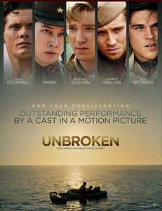 Unbroken (2014) Vudu or Movies Anywhere HD redemption only