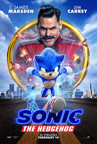 Sonic The Hedgehog (2020) Vudu HD or iTunes 4K code