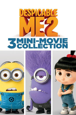 Despicable Me 2: 3 Mini-Movie Collection Vudu HD redemption only