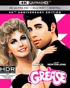 Grease (1978) Vudu 4K or iTunes 4K code