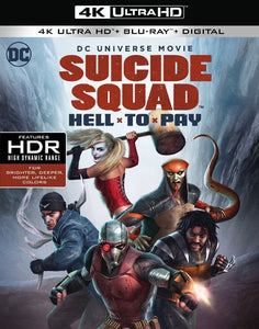Suicide Squad: Hell To Pay (2018) Movies Anywhere 4K code