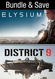 Elysium / District 9 Movies Anywhere HD code