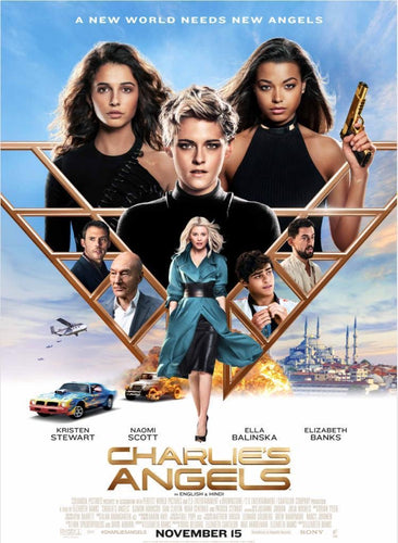 Charlie's Angels (2019) Vudu or Movies Anywhere HD code