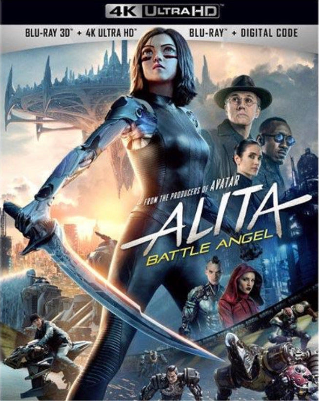 Alita: Battle Angel (2019) Vudu or Movies Anywhere 4K code