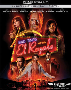Bad Times At The El Royale (2018) Vudu or Movies Anywhere 4K code