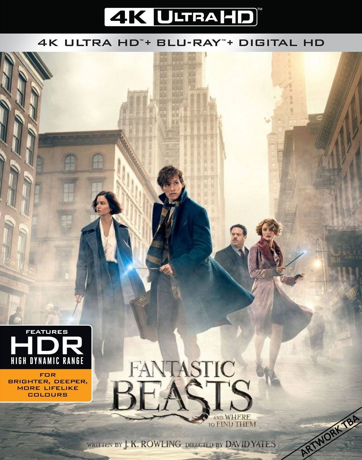 Fantastic Beasts and Where to Find Them Movies Anywhere 4K code