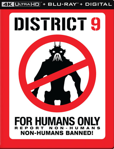 District 9 (2009) Vudu or Movies Anywhere 4K code