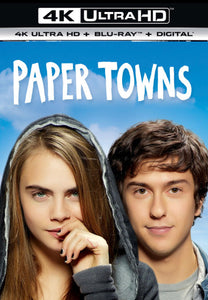 Paper Towns iTunes 4K or Movies Anywhere HD code
