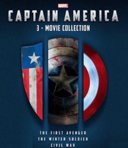 Captain America Trilogy Vudu or Movies Anywhere HD redeem only
