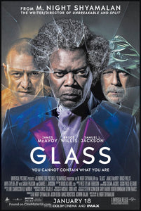 Glass (2019) Vudu or Movies Anywhere HD code