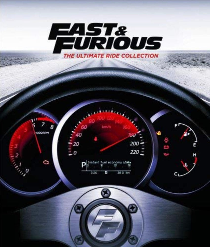 Fast and the Furious 1-7 iTunes 4K redemption only