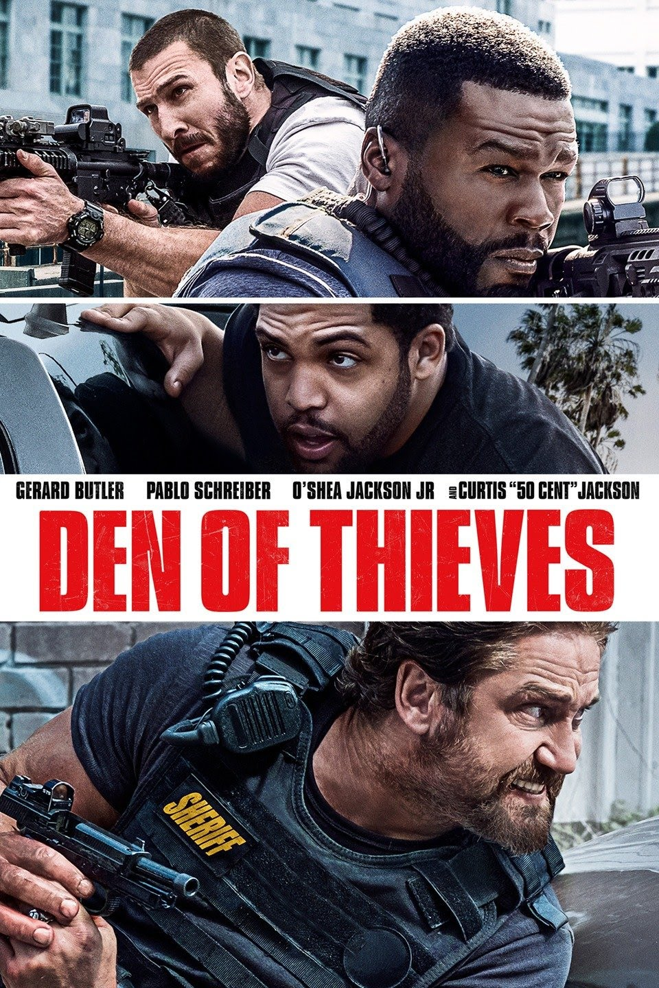 Den of Thieves (2018) iTunes HD code