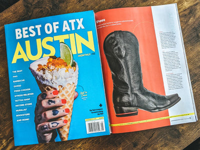 Austin Monthly: Chisos are the Best Boots in Austin, Texas