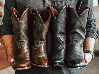 Native Texan Creates Cowboy Boots Inspired by Big Bend