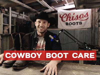 How to Clean & Condition Your Chisos Boots