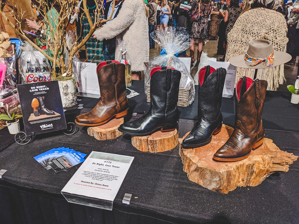 Charity Silent Auction - Chisos Boots