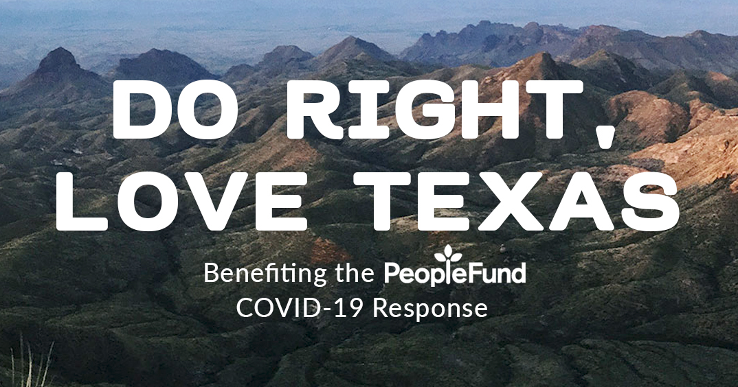 Do Right, Love Texas