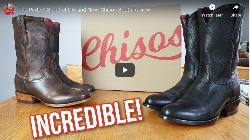 chisos boots review