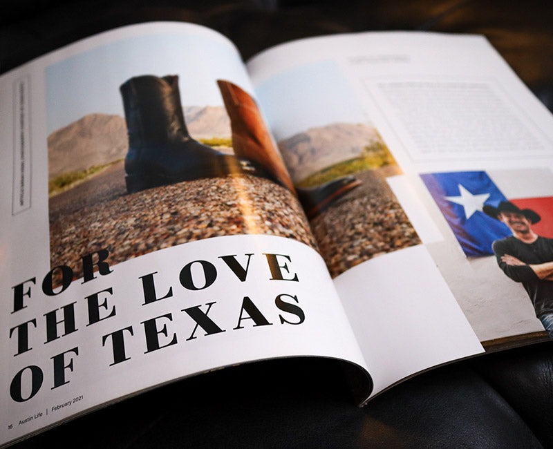 Chisos Boots - Magazine Article