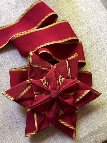 Vintage French Hat Band Ribbon