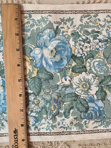 Antique Linen/Blend Block Printed Fabric
