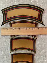 Load image into Gallery viewer, Rare Antique French Pharmacy/Apothecary Labels Gold Metallic