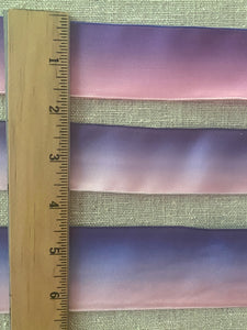 Lavender/Pink Ombre Ribbons