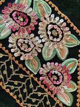 Load image into Gallery viewer, Tambour and Gold Metal Embroidered Appliques