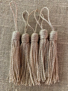 Silver Metal Tassels Two Styles