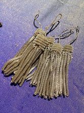 Load image into Gallery viewer, Silver Metal Tassels Two Styles
