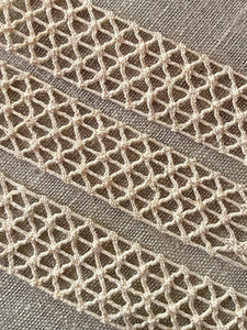 Antique French Braided Net Lace Trim