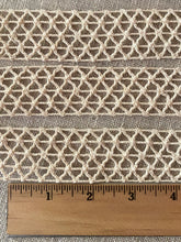 Load image into Gallery viewer, Antique French Braided Net Lace Trim