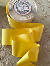 Load image into Gallery viewer, Vintage 2 Inch Width Double Faced Satin Ribbon - By the Roll