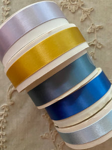 Vintage Double Faced Satin Ribbon - By the Roll