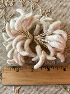 Antique French Flower Buds Two Different Sizes