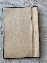 Load image into Gallery viewer, Hand Embroidered Art Nouveau Linen Book Cover