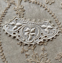 Load image into Gallery viewer, Arts & Crafts Era Embroidered Linen Appliques