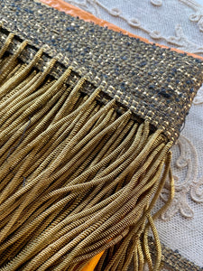 Antique Metal Bullion Fringe