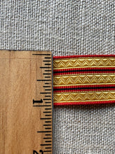 Load image into Gallery viewer, Two Different Choices Vintage French Finely Patterned Braid/Trim By the Yard