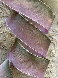 Pink to Green French Ombre Ribbon