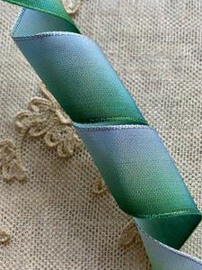 French Blue Ombre Ribbons Four Different Choices