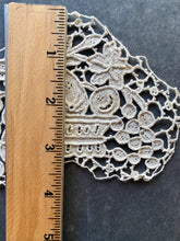 Load image into Gallery viewer, Needle Lace Basket of Fruit Applique