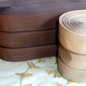 Vintage Ribbon by the Roll - Antique Hat Band Ribbon in Three Different Colors and  Widths