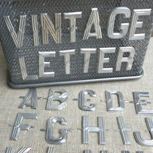 Load image into Gallery viewer, Antique French Metal Letters