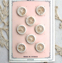 Load image into Gallery viewer, Hand Made Linen Buttons - French