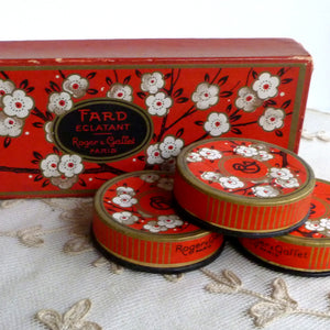 Roger & Gallet Rouge Boxes