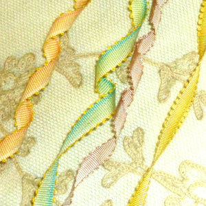 Circa 1920 French Picot Ombre Ribbon